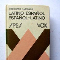Diccionarios de segunda mano: DICCIONARIO ILUSTRADO LATINO-ESPAÑOL ESPAÑOL-LATINO VOX. Lote 81653138