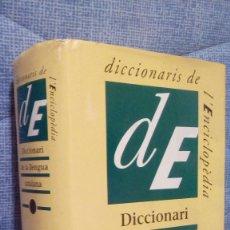 Diccionarios de segunda mano: DICCIONARI DE LA LLENGUA CATALANA - ENCICLOPEDIA CATALANA 1995 - 77.000 ENTRADES. Lote 81705688