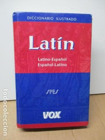 DICCIONARIO ILUSTRADO LATINO ESPAÑOL, VOX (Libros de Segunda Mano - Diccionarios)