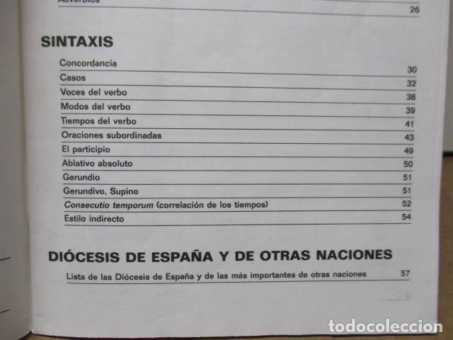 Diccionarios de segunda mano: DICCIONARIO ILUSTRADO LATINO ESPAÑOL, VOX - Foto 8 - 82022960