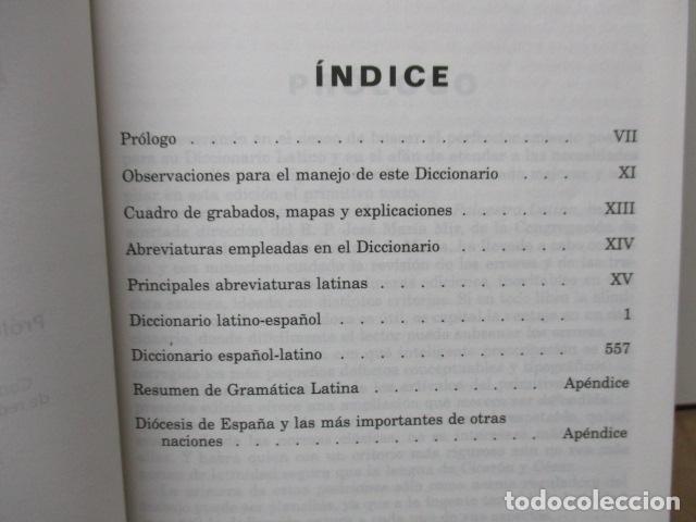 Diccionarios de segunda mano: DICCIONARIO ILUSTRADO LATINO ESPAÑOL, VOX - Foto 10 - 82022960