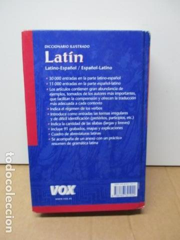 Diccionarios de segunda mano: DICCIONARIO ILUSTRADO LATINO ESPAÑOL, VOX - Foto 13 - 82022960