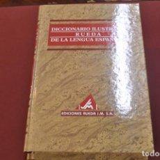 Diccionarios de segunda mano - 4 tomos diccionario ilustrado rueda de la lengua española , ediciones rueda - DI4 - 82027460