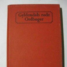 Diccionarios de segunda mano: DANSK SPANSK ORDBOG - GYLDENDAL - 1965 - DICCIONARIO DANÉS ESPAÑOL. Lote 82038524