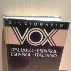 Diccionarios de segunda mano: DICCIONARIO ESPAÑOL ITALIANO. Lote 82491000