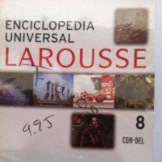 Diccionarios de segunda mano: ENCICLOPEDIA UNIVERSAL LAROUSSE Nº 8 CON-DEL. Lote 82579676
