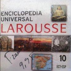 Diccionarios de segunda mano: ENCICLOPEDIA UNIVERSAL LAROUSSE Nº 10 ECT-ESP. Lote 82581140