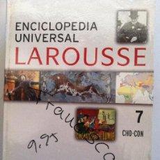 Diccionarios de segunda mano: ENCICLOPEDIA UNIVERSAL LAROUSSE Nº 7 CHO-CON. Lote 82582688