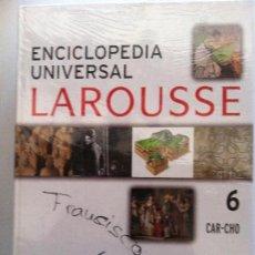 Diccionarios de segunda mano: ENCICLOPEDIA UNIVERSAL LAROUSSE Nº 6 CAR-CHO. Lote 82583124
