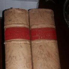 Diccionarios de segunda mano: DICCIONARIO GEOGRÁFICO POSTAL DE ESPAÑA DOS VOLUMENES 16 DE ENERO DE 1942. Lote 80269205