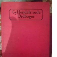 Diccionarios de segunda mano: DICCIONARIO DANES INGLES --GYLDENDALS RODE ORDNOGER - DANSK. ENGELSK -REFM3E2. Lote 83771708