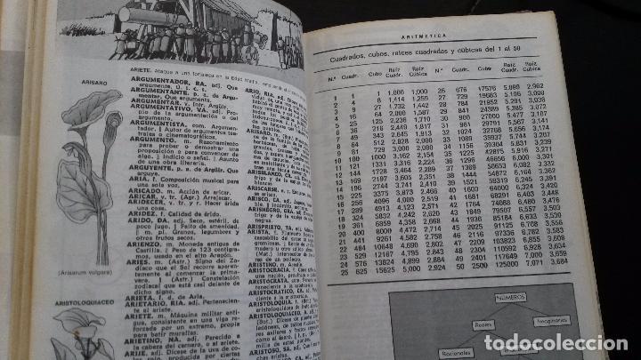 Diccionarios de segunda mano: DICCIONARIO ILUSTRADO-COLOR DE LA LENGUA ESPAÑOLA. ESCOLAR SOPENA-COLOR. 1977. - Foto 4 - 85750052