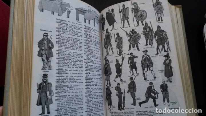 Diccionarios de segunda mano: DICCIONARIO ILUSTRADO-COLOR DE LA LENGUA ESPAÑOLA. ESCOLAR SOPENA-COLOR. 1977. - Foto 5 - 85750052