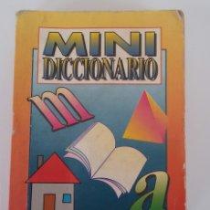 Diccionarios de segunda mano: MINI DICCIONARIO 10X7,5 CM. Lote 87658010