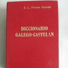 Diccionarios de segunda mano: DICCIONARIO GALEGO CASTELAN, POR X. L. FRANCO GRANDE. ED. GALAXIA.. Lote 88367800