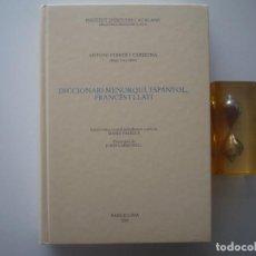 Diccionarios de segunda mano: FEBRER I CARDONA. DICCIONARI MENORQUÍ, ESPANYOL, FRANCÈS I LLATÍ. FOLIO. 2001. . Lote 88580592