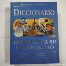 Diccionarios de segunda mano: DICCIONARIO READER'S DIGEST. ENRIQUEZCA SU VOCABULARIO - 2002. Lote 89101576