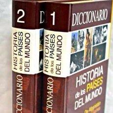 Diccionarios de segunda mano: DICCIONARIO HISTORIA DE LOS PAÍSES DEL MUNDO. Lote 89757664