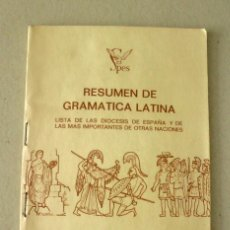 Livres d'occasion: APÉNDICE AL DICCIONARIO ILUSTRADO LATINO-ESPAÑOL, ESPAÑOL-LATINO SPES 1969. Lote 91083830