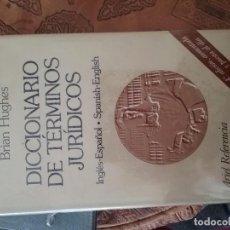 Diccionarios de segunda mano: DICCIONARIO DE TÉRMINOS JURÍDICOS. Lote 91627565