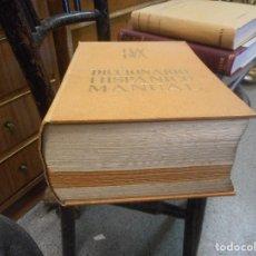 Diccionarios de segunda mano: GRAN DICCIONARIO HISPANICO MANUAL LUX DUX GRABADOS RETRATOS LAMINAS MAPAS CUIDADO PIE SI CAE. Lote 92291695