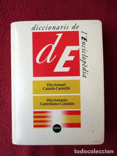 DICCIONARI CATALÀ - CASTELLÀ / DICCIONARIO CASTELLANO - CATALÁN. MINI. 2003 L´ENCICLOPÈDIA (Libros de Segunda Mano - Diccionarios)