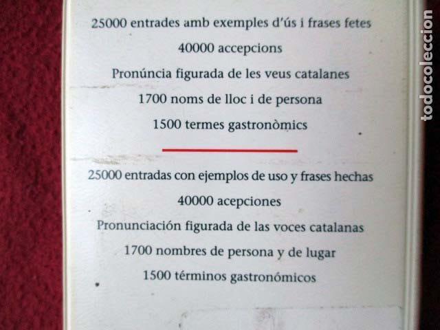 Diccionarios de segunda mano: Diccionari Català - Castellà / Diccionario Castellano - Catalán. Mini. 2003 L´enciclopèdia - Foto 2 - 92420690