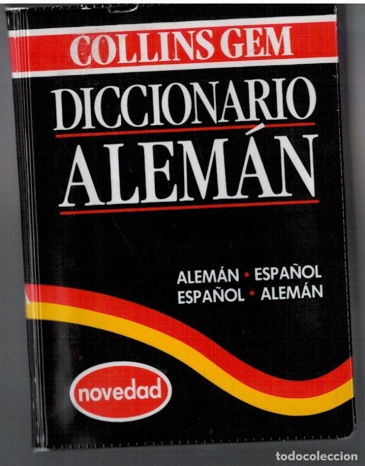 DICCIONARIO ALEMÁN - COLLINS - BOLSILLO (Libros de Segunda Mano - Diccionarios)