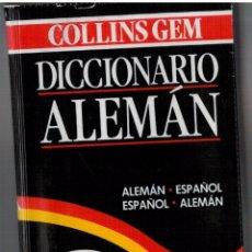 Diccionarios de segunda mano: DICCIONARIO ALEMÁN - COLLINS - BOLSILLO. Lote 93283005