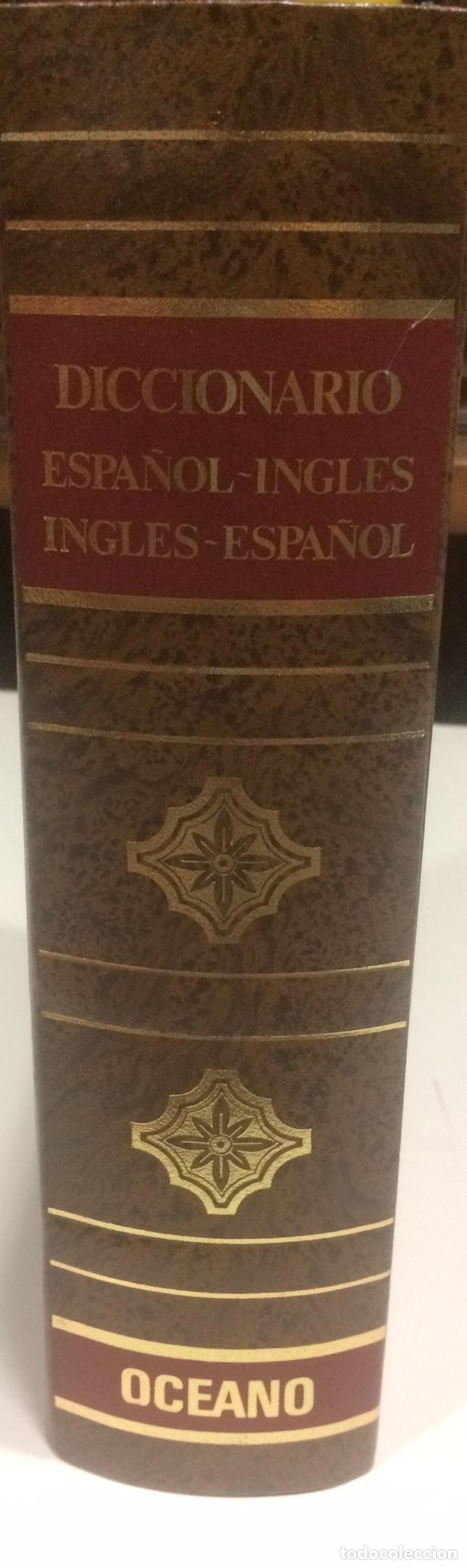 DICCIONARIO ESPAÑOL-INGLES INGLES-ESPAÑOL OCEANO (Libros de Segunda Mano - Diccionarios)