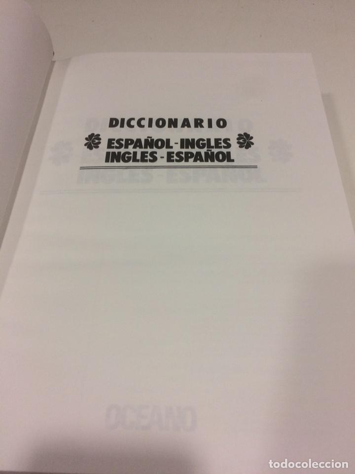 Diccionarios de segunda mano: Diccionario Español-Ingles Ingles-Español Oceano - Foto 3 - 95118686