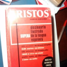 Diccionarios de segunda mano: ARISTOS. DICCIONARIO ILUSTRADO DE LA LENGUA ESPAÑOLA. AÑO 70-80. BUEN ESTADO.. Lote 95902511