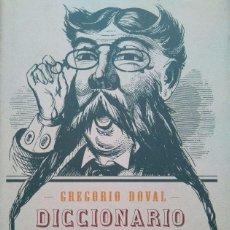 Diccionarios de segunda mano: DICCIONARIO GENERAL DE CITAS. GREGORIO DOVAL. Lote 185660481