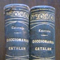 Diccionarios de segunda mano: DICCIONARIO CATALAN AÑO 1864. Lote 97087655