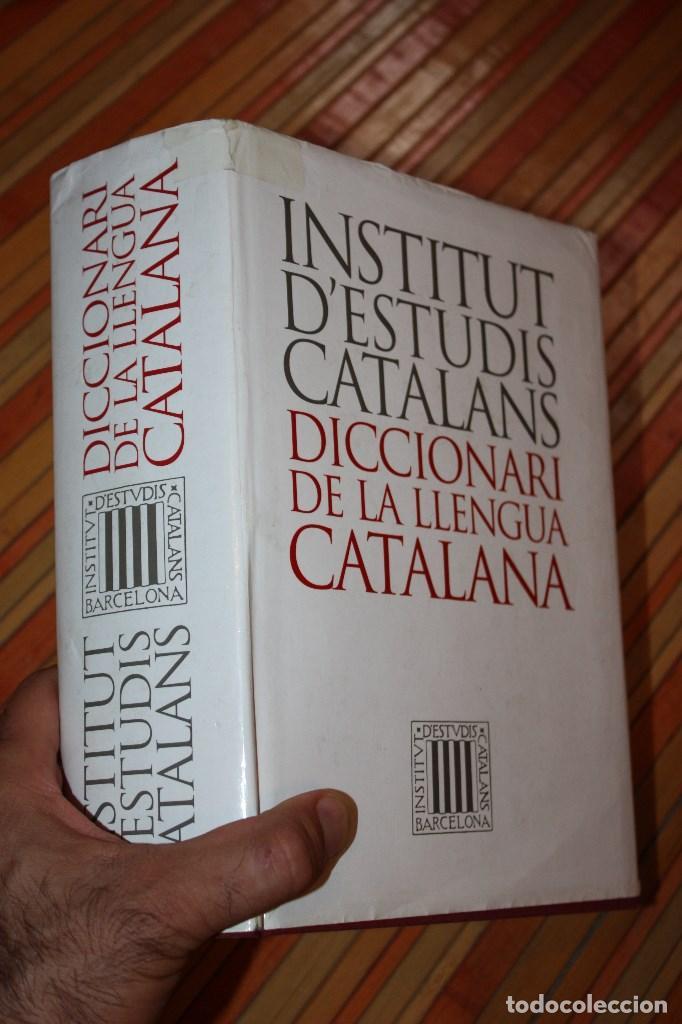 DICCIONARIO DE LA LENGUA CATALANA INSTITUT D'ESTUDIS CATALANS (Libros de Segunda Mano - Diccionarios)