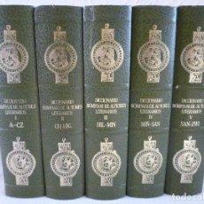 Diccionarios de segunda mano: DICCIONARIO BOMPIANI DE AUTORES LITERARIOS. GONZÁLEZ PORTO-BOMPIANI. 5 VOLÚMES.PLANETA-AGOSTINI.1987. Lote 97523255