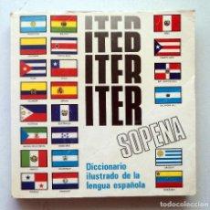 Diccionarios de segunda mano: DICCIONARIO ILUSTRADO DE LA LENGUA ESPAÑOLA ITER SOPENA - EST. RAMÓN SOPENA,. Lote 98163711