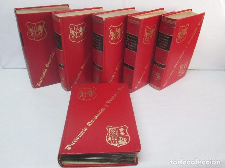 DICCIONARIO ONOMASTICO Y HERALDICO VASCO. TOMOS DEL I AL VI.BIBLIOTECA DE LA GRAN ENCICLOPEDIA VASCA (Libros de Segunda Mano - Diccionarios)
