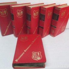 Diccionarios de segunda mano: DICCIONARIO ONOMASTICO Y HERALDICO VASCO. TOMOS DEL I AL VI.BIBLIOTECA DE LA GRAN ENCICLOPEDIA VASCA. Lote 98870847