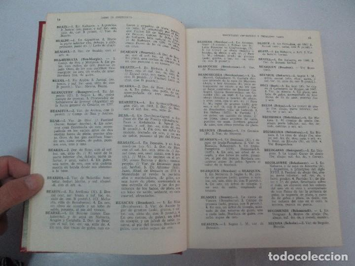 Diccionarios de segunda mano: DICCIONARIO ONOMASTICO Y HERALDICO VASCO. TOMOS DEL I AL VI.BIBLIOTECA DE LA GRAN ENCICLOPEDIA VASCA - Foto 19 - 98870847