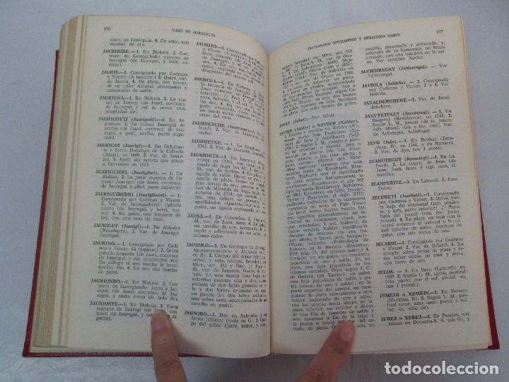 Diccionarios de segunda mano: DICCIONARIO ONOMASTICO Y HERALDICO VASCO. TOMOS DEL I AL VI.BIBLIOTECA DE LA GRAN ENCICLOPEDIA VASCA - Foto 28 - 98870847