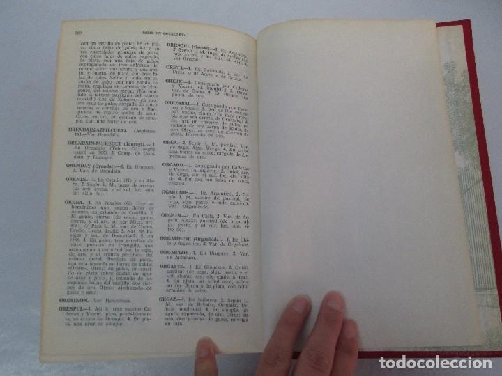 Diccionarios de segunda mano: DICCIONARIO ONOMASTICO Y HERALDICO VASCO. TOMOS DEL I AL VI.BIBLIOTECA DE LA GRAN ENCICLOPEDIA VASCA - Foto 31 - 98870847