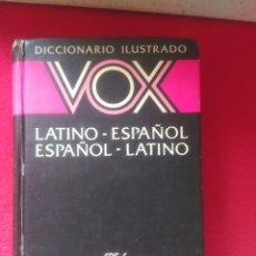 Diccionarios de segunda mano: VOX LATINO ESPAÑOL DICCIONARIO ILUSTRADO. Lote 100372835