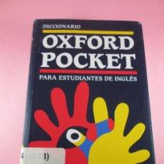Diccionarios de segunda mano: DICCIONARIO-OXFORD POCKET-NUEVA EDICIÓN-NUEVO-VER FOTOS. Lote 102109659