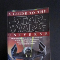 Diccionarios de segunda mano: STAR WARS - A GUIDE TO THE STAR WARS UNIVERSE (BILL SLAVICSEK) - 1994 - EDITORIAL DEL REY. Lote 102219599