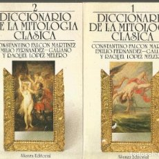 Diccionarios de segunda mano: DICCIONARIO DE LA MITOLOGIA CLASICA. AA.VV. 2 TOMOS COMPLETO. ALIANZA. Lote 103799879