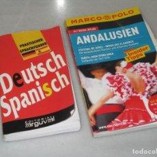 Diccionarios de segunda mano: DICCIONARIO ALEMÁN ESPAÑOL Y GUIA DE ANDALUCIA EN ALEMÁN. Lote 103871227