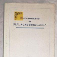 Diccionarios de segunda mano: DICCIONARIO DA REAL ACADEMIA GALEGA (EI). Lote 103892659
