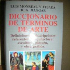 Diccionarios de segunda mano: DICCIONARIO DE TERMINOS DE ARTE- EDITORIAL JUVENTUD. Lote 104353179