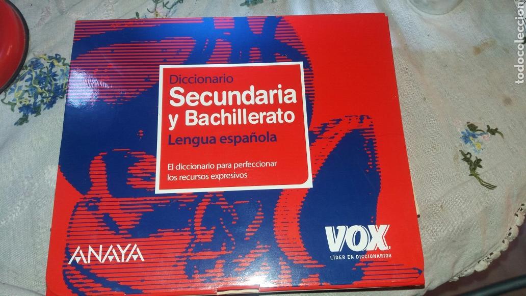 DICCIONARIO SECUNDARIA Y BACHILLERATO LENGUA ESPAÑOLA (Libros de Segunda Mano - Diccionarios)